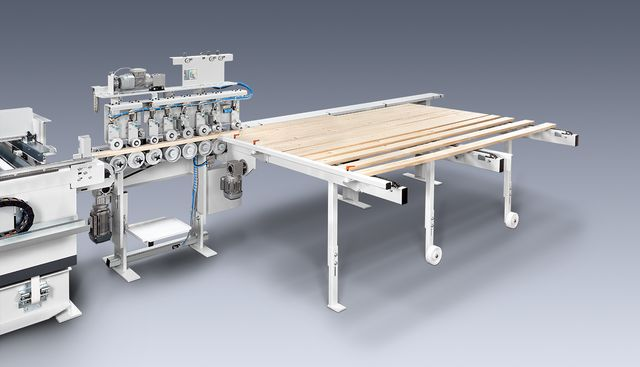 Picture of an automatic gluing station